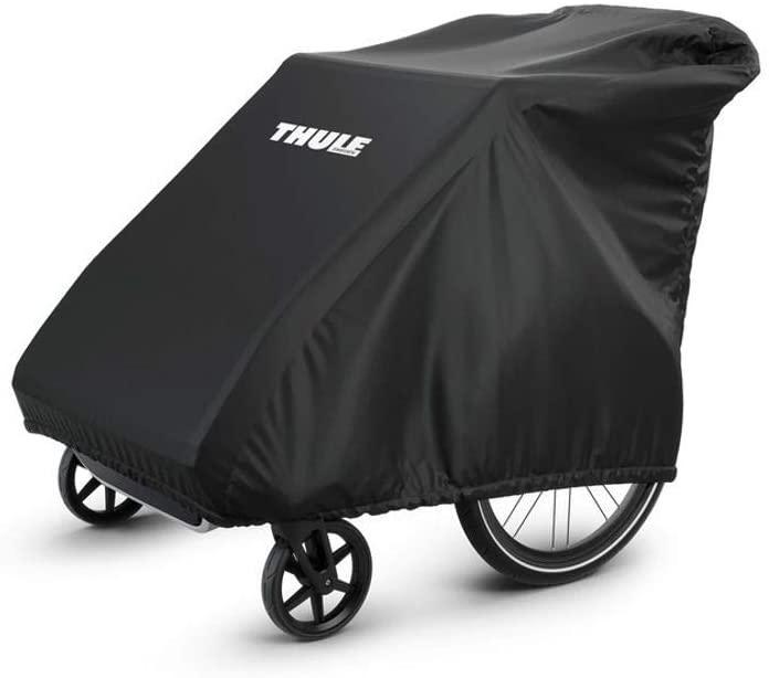 Thule 0872299037841 Fahrrad Kinderanhänger Schutzhülle, schwarz Bild 1