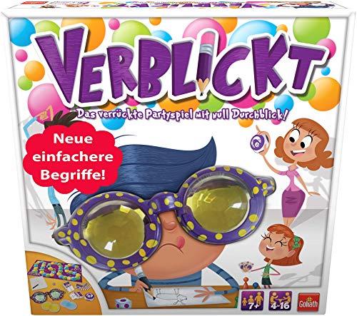 Goliath 76111 - Verblickt, Partyspiel für Jung und Alt, Begriffe zeichnen und erraten, Lustiges Zeichenspiel für die ganze Familie, ab 7 Jahren Bild 1