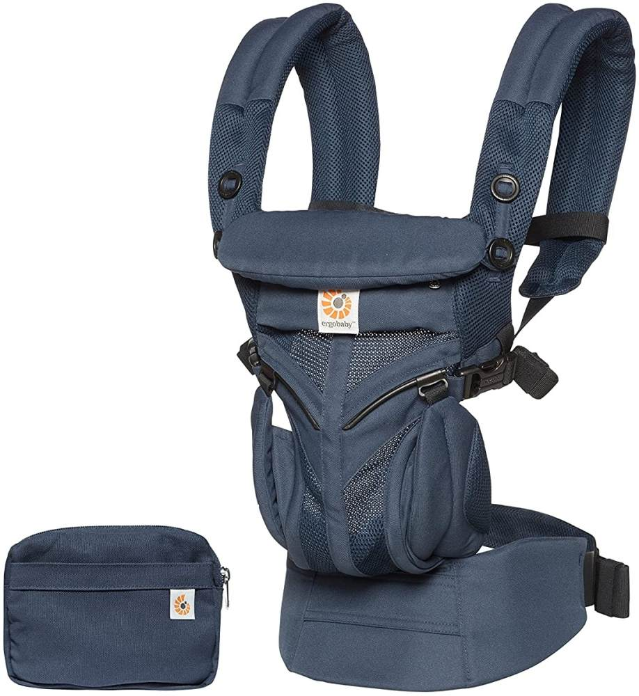 Ergobaby 'Omni 360' Babytrage 4-Positionen Cool Air Mesh Midnight Blue Bild 1