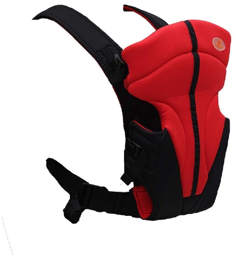 Babytrage Tender 3 in 1 Bauch- und Rückentrage ab Geburt bis ca. 12 Monate (Rot) Bild 1
