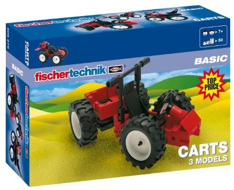 fischertechnik BASIC Carts, Konstruktionsbaukasten - 505279 Bild 1