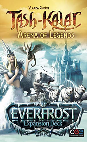 Czech Games Edition CGE00028 Nein Tash-Kalar: Everfrost Expansion Deck, Spiel Bild 1