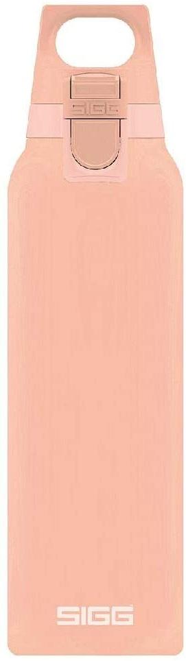 SIGG Hot&Cold Trinkflasche mit Teefilter 0.5L 26.5 cm Shy pink Bild 1
