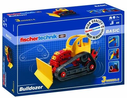 fischertechnik - 520395 ADVANCED Bulldozer, Konstruktionsspielzeug Bild 1