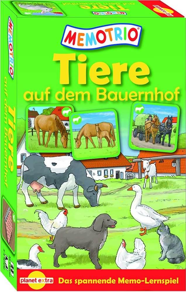 HCM Kinzel Memotrio 23115 - Memotrio- Tiere auf dem Bauernhof Bild 1