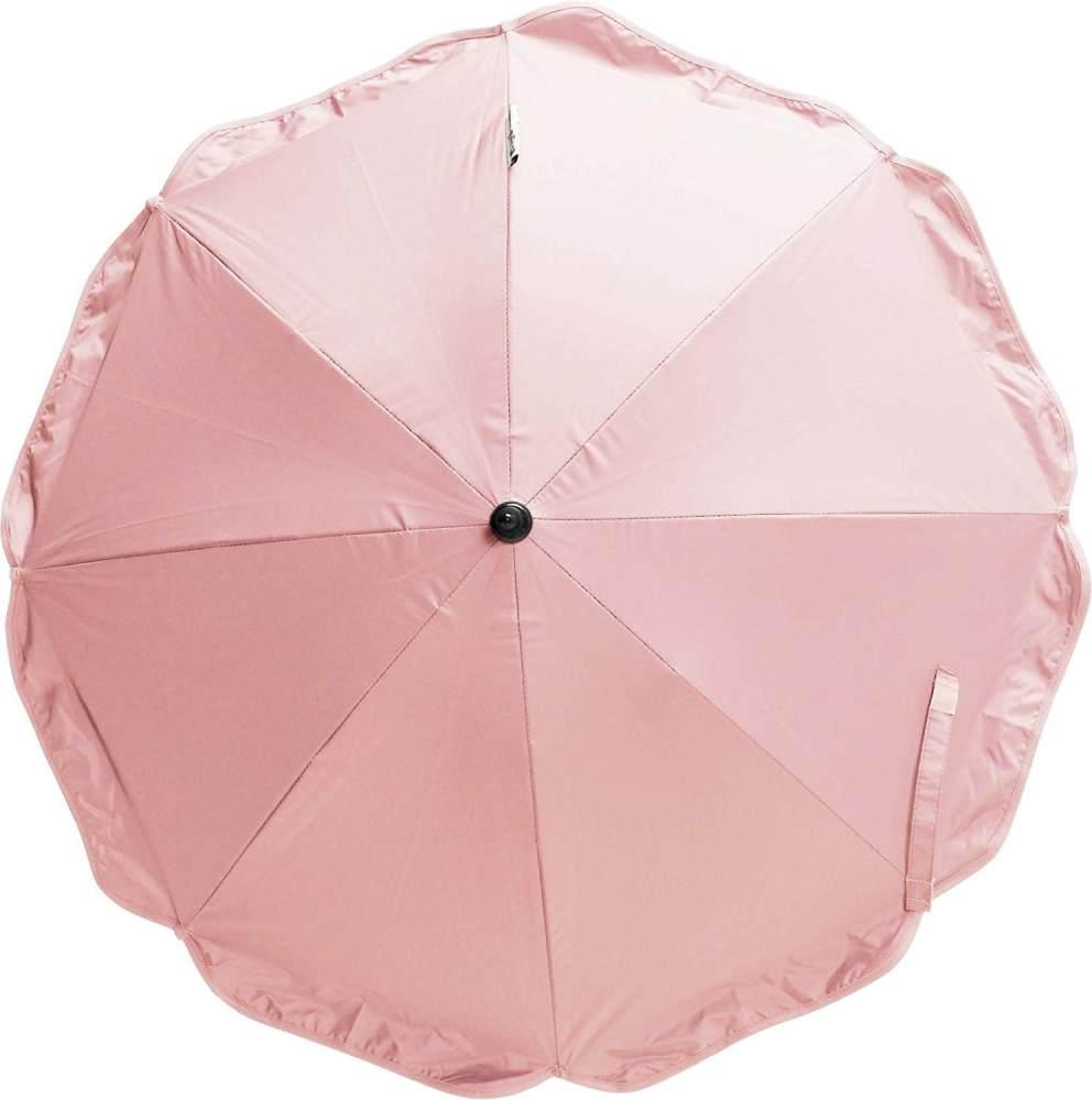 Sonnenschirm für Kinderwagen Set lila Bild 1