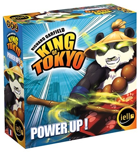 IELLO Tash – 51369 – King of Tokyo – Power Up Bild 1