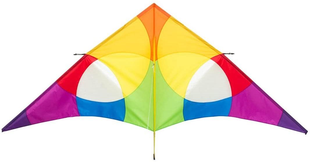 HQ 10642030 - Delta Rainbow 3 m Einleiner, Ab 14 Jahren, 138 x 300 cm Ripstop-Polyester 2-5 Beaufort Bild 1