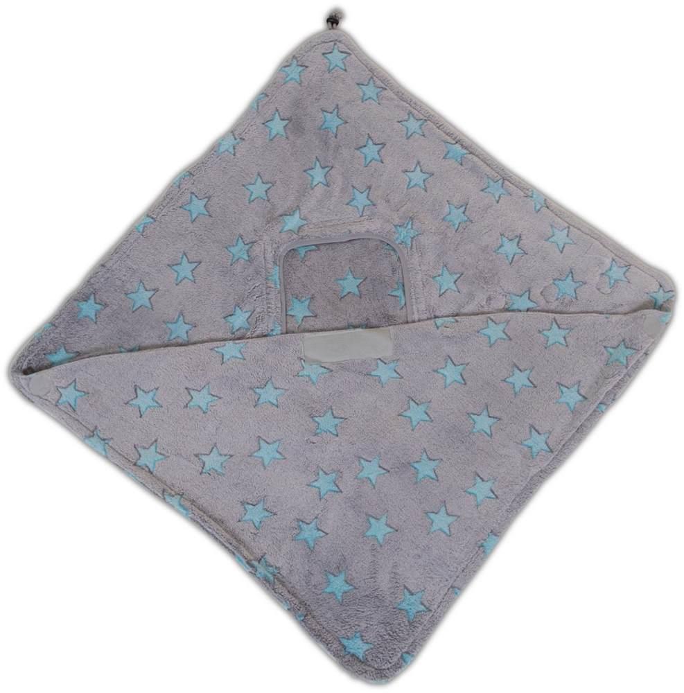 Fleece-Decke gruen Bild 1