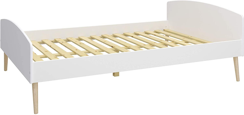 Steens Kinderbett SOFT LINE, MDF weiß Eiche massiv 140x200 Bild 1