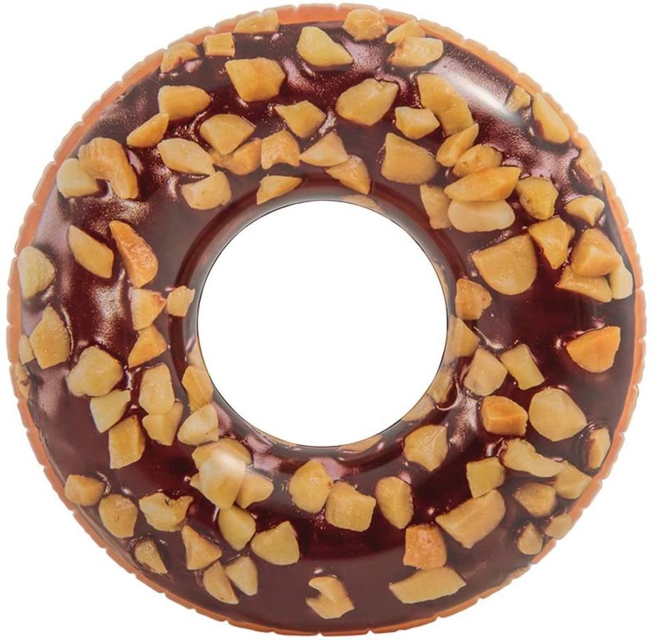 Intex 56262NP Luftmatratze Schwimmreifen aufblasbar 'Chocolate Donut' 114 cm Bild 1
