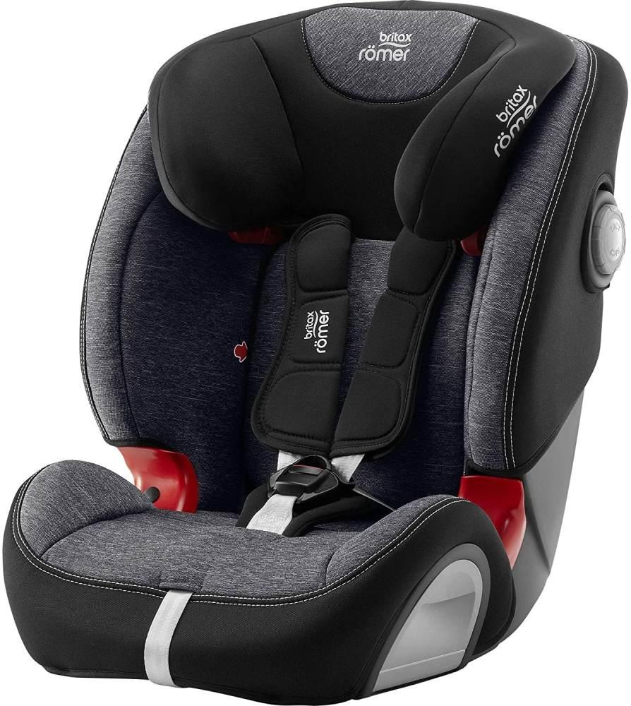 Britax Römer Kindersitz 9 Monate - 12 Jahre I 9 - 36 kg I EVOLVA 123 SL SICT Autositz Isofix Gruppe 1/2/3 I Graphite Marble Bild 1