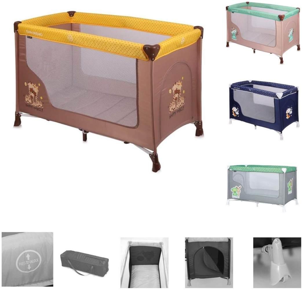 Lorelli 10080011803 Babybett San Remo glückliche Familie, mehrfarbig Bild 1