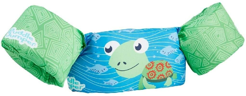 Sevylor Schwimmflügel Puddle Jumper für Kinder und Kleinkinder von 2-6 Jahre, 15-30kg, Schwimmscheiben, schildkröte Bild 1