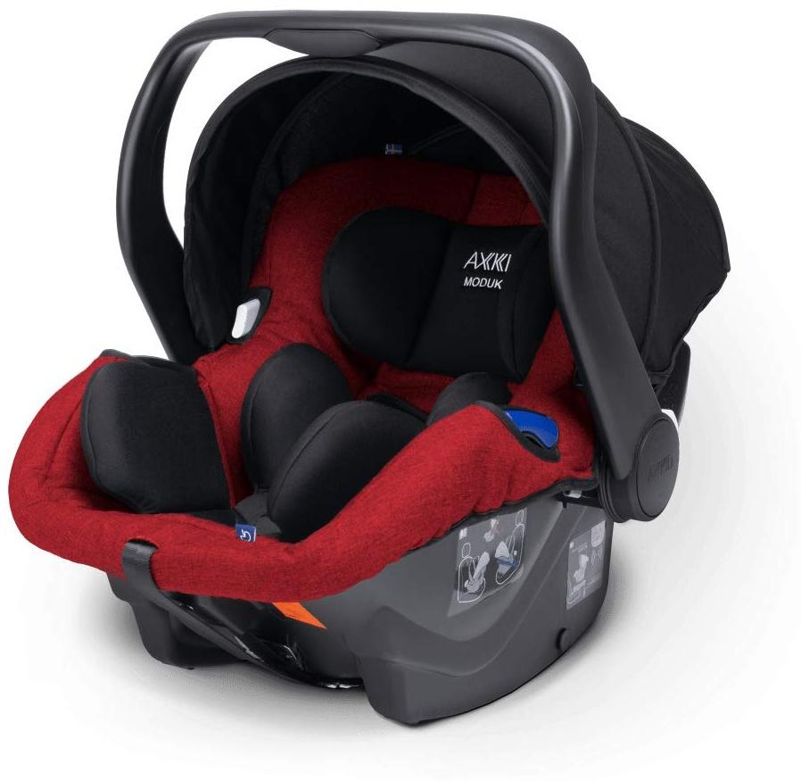 Axkid Modukid Infant Rückwärtsgerichteter Autositz 40-75 cm Rot Bild 1