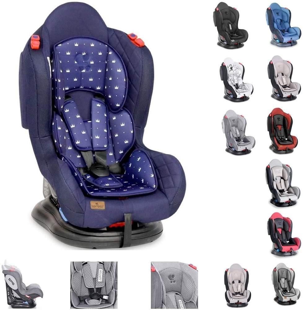 Lorelli Kindersitz Jupiter +SPS, Gruppe 0+/1/2 (0-25 kg) Reboarder, verstellbar, Farbe:dunkelblau Bild 1