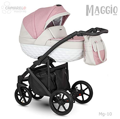 Camarelo Maggio 3in1 Kombikinderwagen Farbe Mg-10 rosa Bild 1