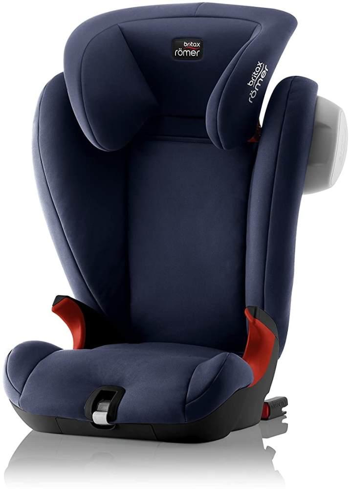 Britax Römer Kindersitz 3,5 - 12 Jahre I 15 - 36 kg I KIDFIX SL SICT Autositz Gruppe 2/3 I Moonlight Blue Bild 1