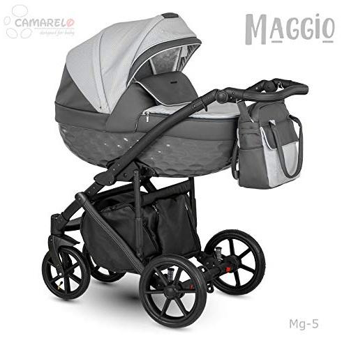 Camarelo Maggio 3in1 Kombikinderwagen Farbe Mg-5 hellgrau/dunkelgrau Bild 1