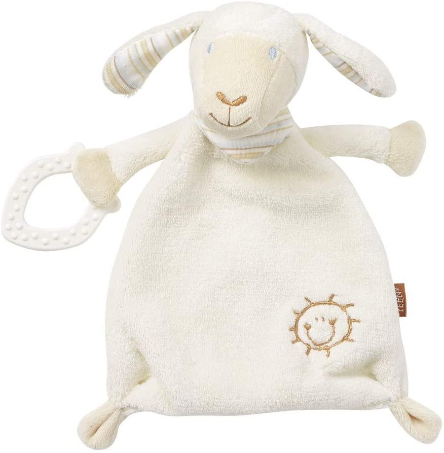 Fehn 154436 Schmusetuch Schaf mit Softbeißer BabyLOVE Bild 1