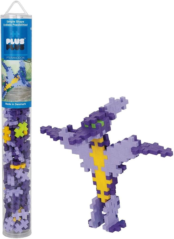 Plus-Plus 300.4095 Pteranodon Tube Mix (100 Stück), Mehrfarbig Bild 1