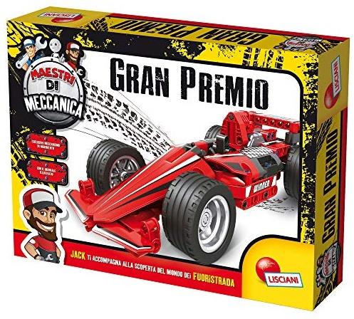Lisciani Giochi - 77304 Spiel-Maestri Mechanische Formel 1 Bild 1