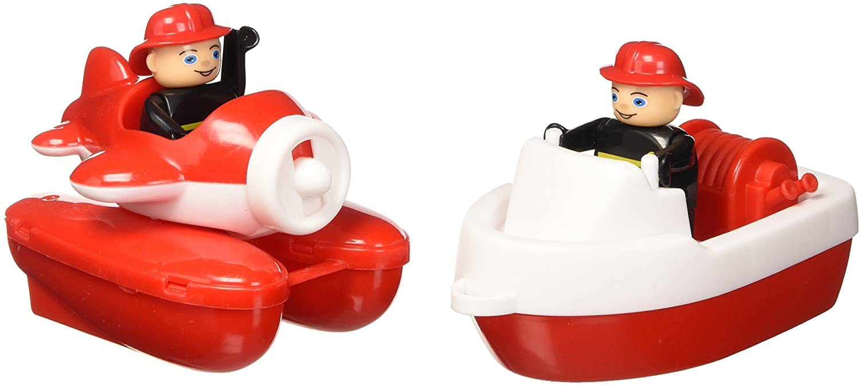 BIG 55133 - Strandspielzeug-Wasserspiel Fire-Boat-Set Bild 1
