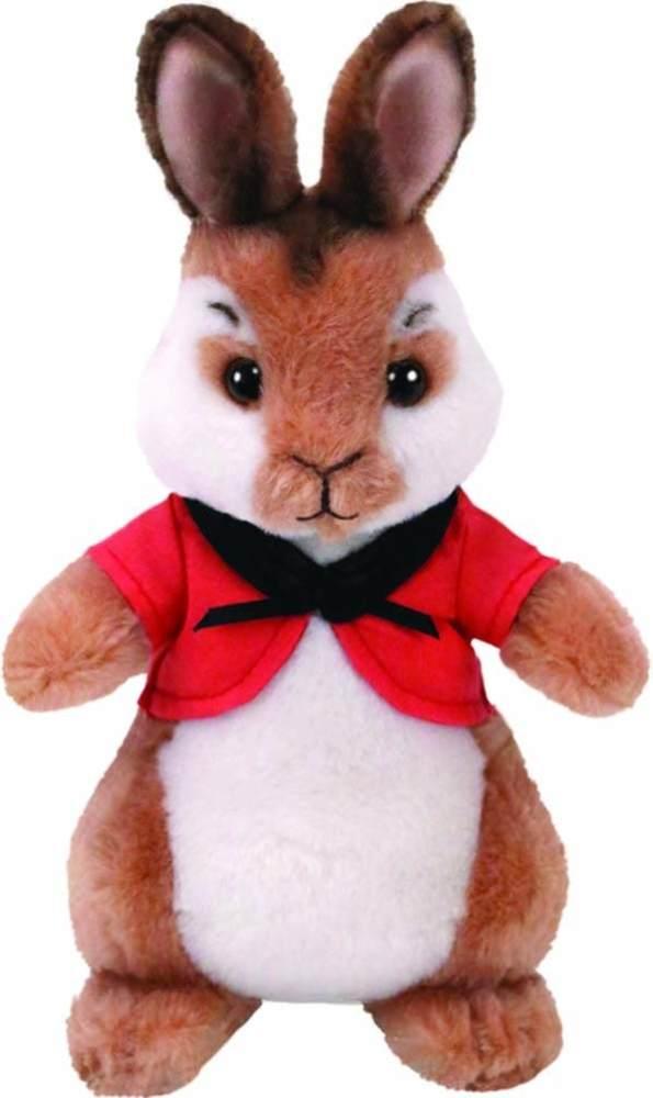 TY 42276TY Flopsy Cape Peter Rabbit Plüsch Hase Boler, Rot Bild 1