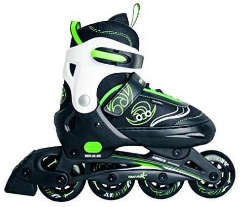 Authentic Sports - Kinder Inline-Skates Muuwmi - grün-weiß-schwarz - Größe 33-36 Bild 1