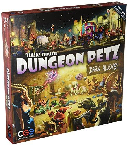 Czech Games Edition CGE00024 Dungeon Petz: Dark Alleys, Spiel Bild 1