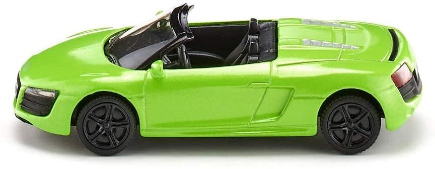 SIKU 1316, Audi R8 Spyder, Metall/Kunststoff, Farblich Sortiert, Spielzeugauto für Kinder Bild 1