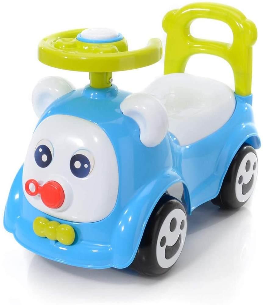 My First Car Baby Face Rutscher Auto Blau Bild 1