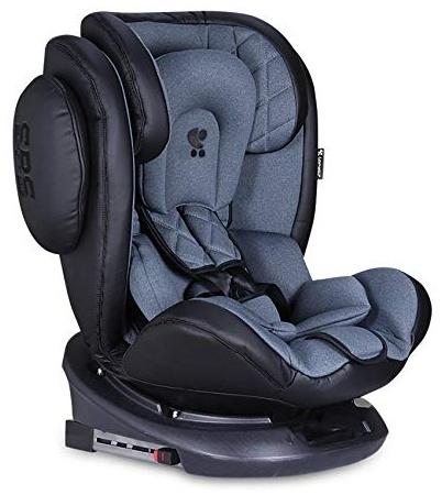 Lorelli Kindersitz Aviator SPS Isofix Gruppe 0+/1/2/3 (0-36 kg) 0-12 Jahre, Farbe:dunkelgrau Bild 1
