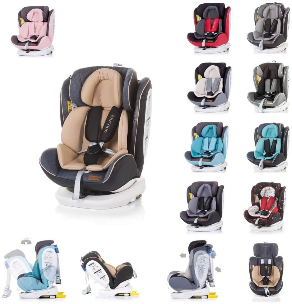 Chipolino Kindersitz Tourneo Gruppe 0+/1/2/3 (0-36 kg), Isofix, 360° drehbar, Farbe:beige Bild 1