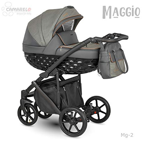 Camarelo Maggio 3in1 Kombikinderwagen Farbe Mg-2 grau Bild 1