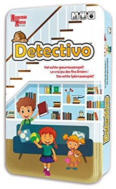 "University Games Europe 318840"" Detectivo Spiel Bild 1"