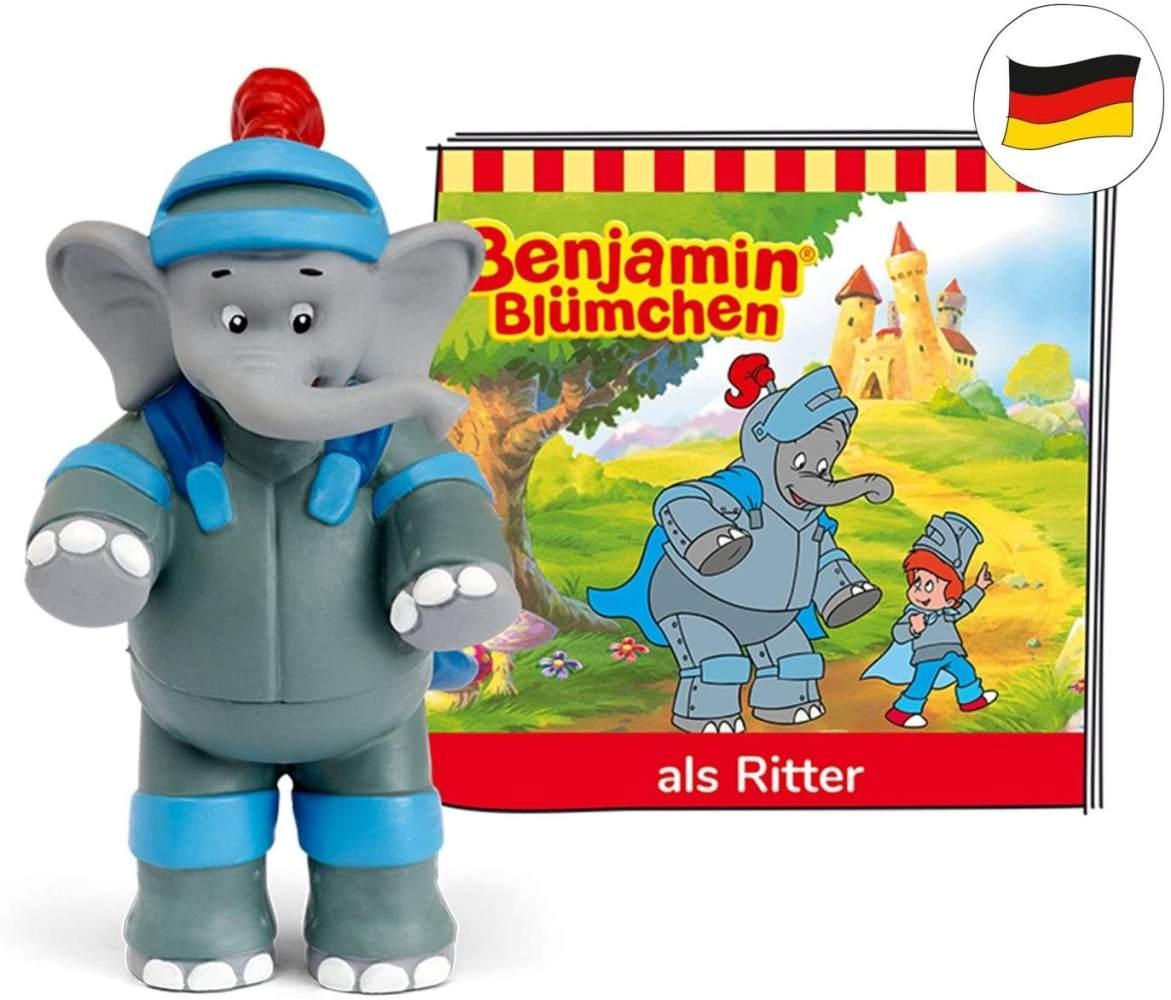 tonies Hörfiguren für Toniebox: Benjamin BLÜMCHEN Hörspiel Figur Benjamin als Ritter - ca. 42 Min. - ab 3 Jahre - DEUTSCH Bild 1