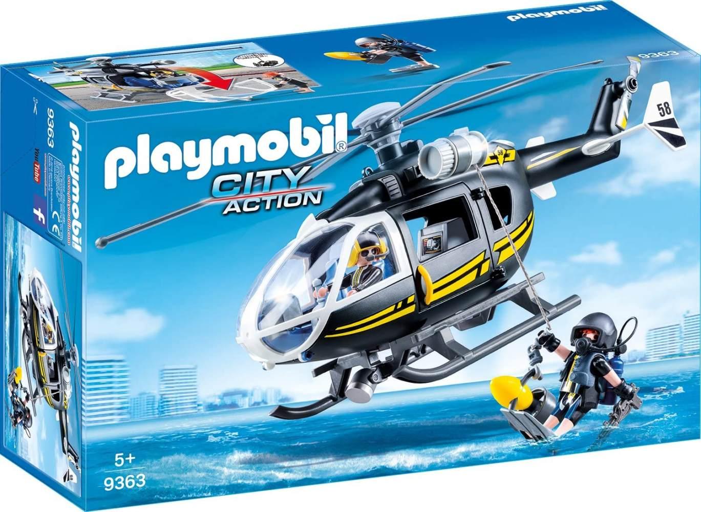 Playmobil 9363 - SEK-Helikopter Spiel Bild 1