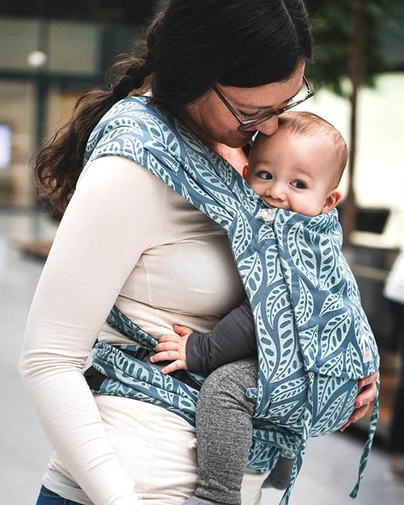 LIMAS Babytrage Valerie Dark Mint Bild 1