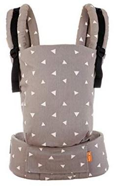Tula Free-To-Grow Babytrage für Neugeborene ab Geburt, Ergonomisch Baby-Tragetasche Bauchtrage Rückentrage (French Marigold) Bild 1