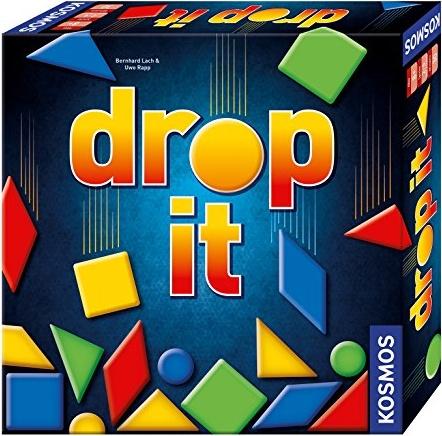 Kosmos 692834 - Drop It, Das schnelle Spiel mit Geschick und Taktik, Familienspiel ab 8 Jahre Bild 1