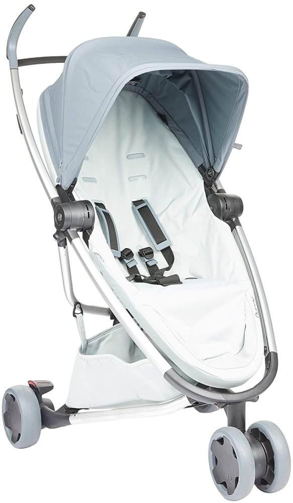 Quinny Zapp Flex Stylischer Komfort-Drei Räder Buggy, mit vielen Extras, leicht, kompakt faltbar, ab der Geburt nutzbar, graphite on grey Bild 1