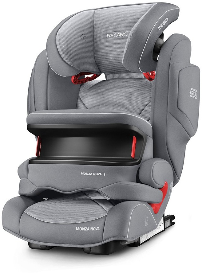 RECARO Monza Nova IS Seatfix Aluminium Grey Bild 1