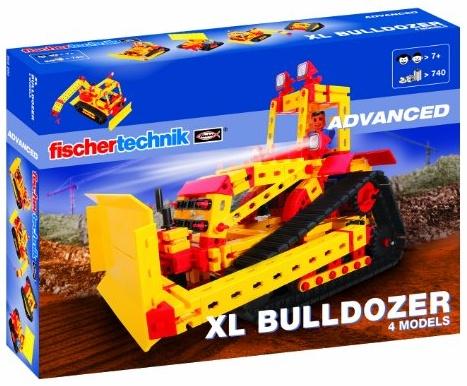 fischertechnik 505280 - XL Bulldozer Fischer Technik Bild 1