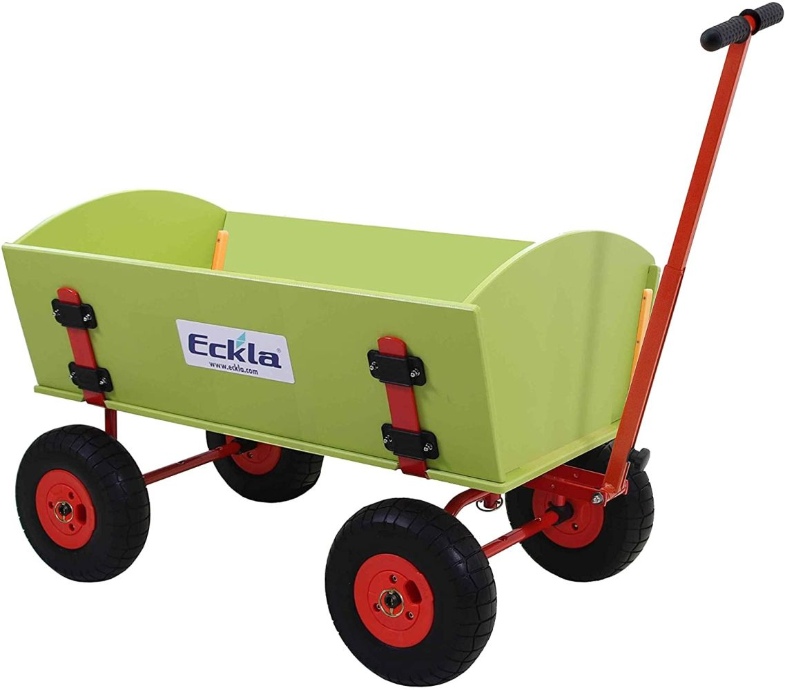 Eckla Ecklatrack Trailer long Bollerwagen Bild 1