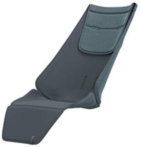 Quinny Sitzauflage, schafft eine bequeme und unterstützende Position, geeignet für Quinny Zapp Flex Plus, Zapp Flex und Zapp Xpress, grau Bild 1