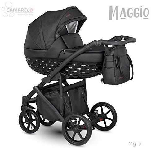 Camarelo Maggio 3in1 Kombikinderwagen Farbe Mg-7 schwarz/schwarz Bild 1