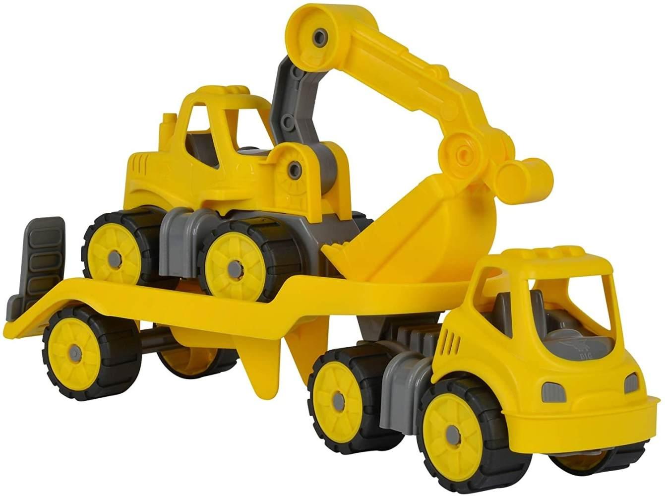 BIG-Power-Worker Mini Transp. + Bagger Bild 1
