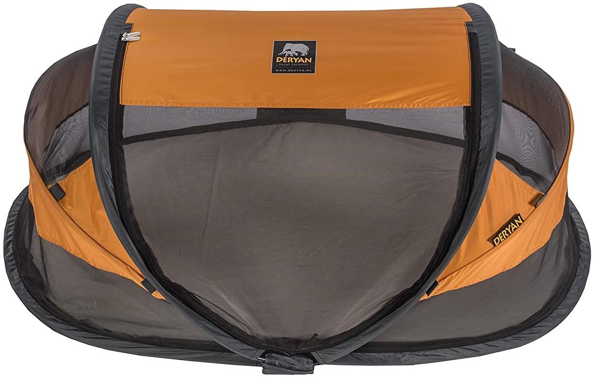 Deryan Travel Cot Baby Luxe Orange Travel Cot Baby Luxe Orange, orange Bild 1