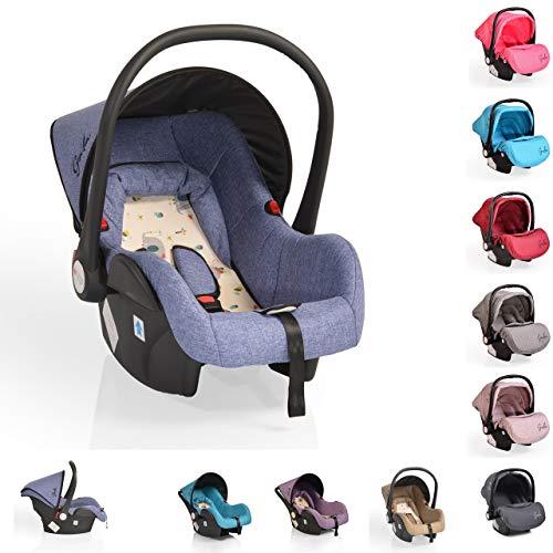 Cangaroo Babyschale Gala, Gruppe 0+ (0-13 kg), Sitzpolster, Fußabdeckung, Farbe:lila Bild 1